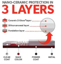 3 Couches Protection NanoCeramique