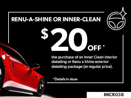MICR038 - Renu-a-shine or Inner-clean 20$ off