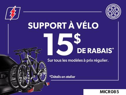 MICR085 - Support à vélo 15 $ de rabais