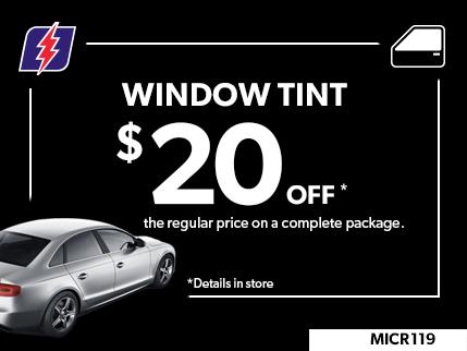 MICR119 - Window tint 20$ off