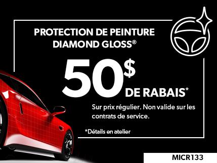 MICR133 - Protection de Peinture Diamond Gloss $50 De Rabais