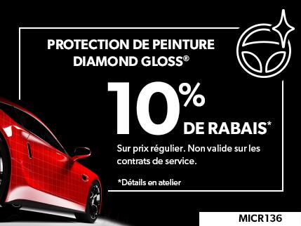 MICR136 - Protection de Peinture Diamond Gloss 10% DE RABAIS