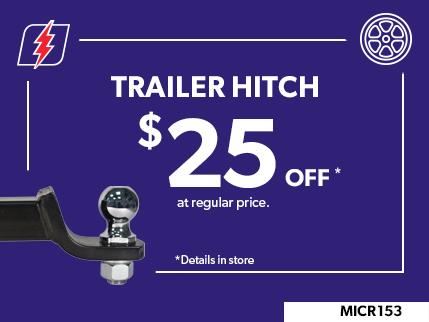 MICR153 - TRAILER HITCH $25 OFF