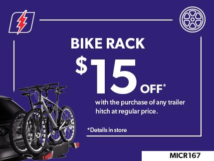 MICR167 - BIKE RACK $15 OFF
