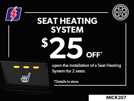 MICR207 - SEAT HEATING SYSTEM $25 OFF