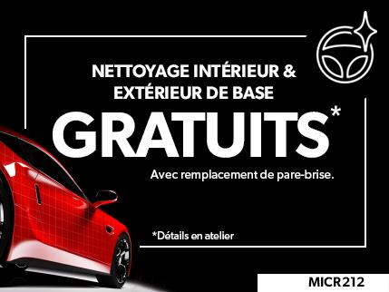 MICR212 - Nettoyage intérieur & extérieur de base GRATUITS